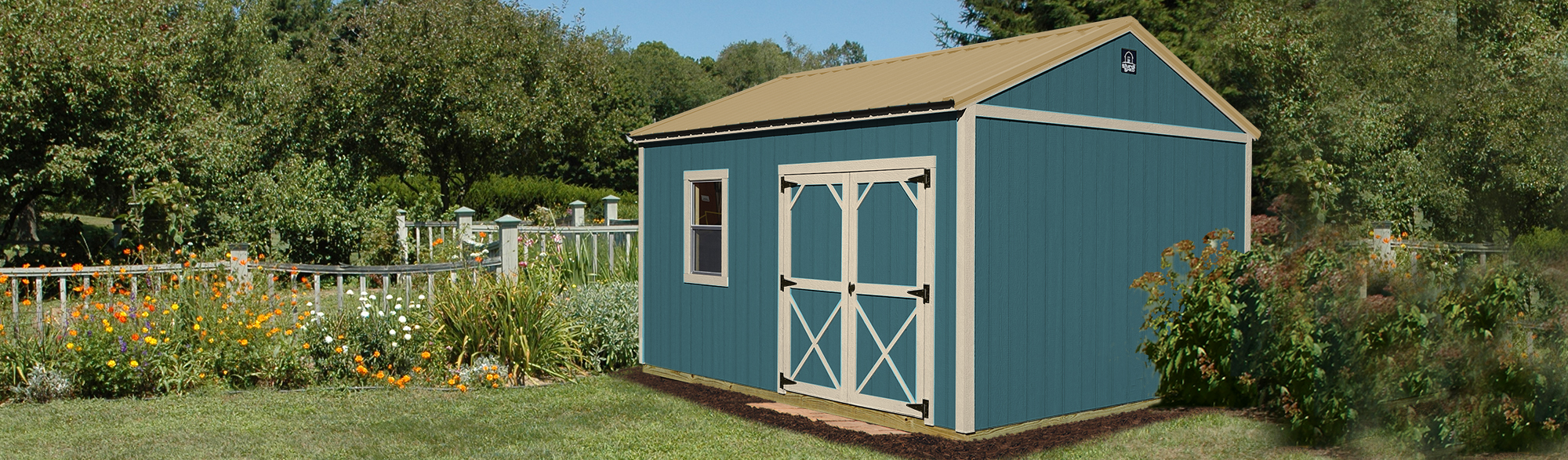 <h2>Garden Shed</h2> <p> <span>The perfect outdoor storage building for versatility!</span> </p>