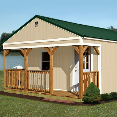 Gable Cabin Shell